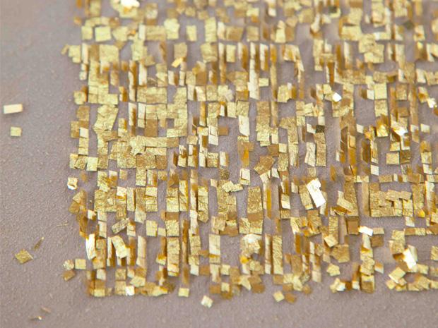Gold and silver foil (Kinginhaku)
