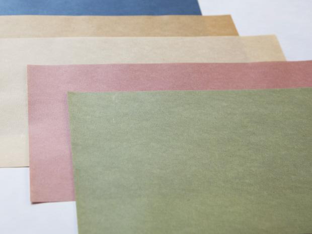 Patched square of paper (Tsugi-shikishi)